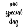 one-special-day
